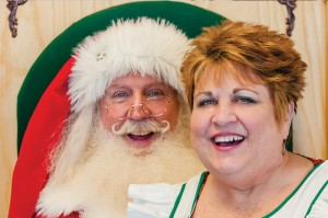 Santa Jim and Mrs. Karen Claus