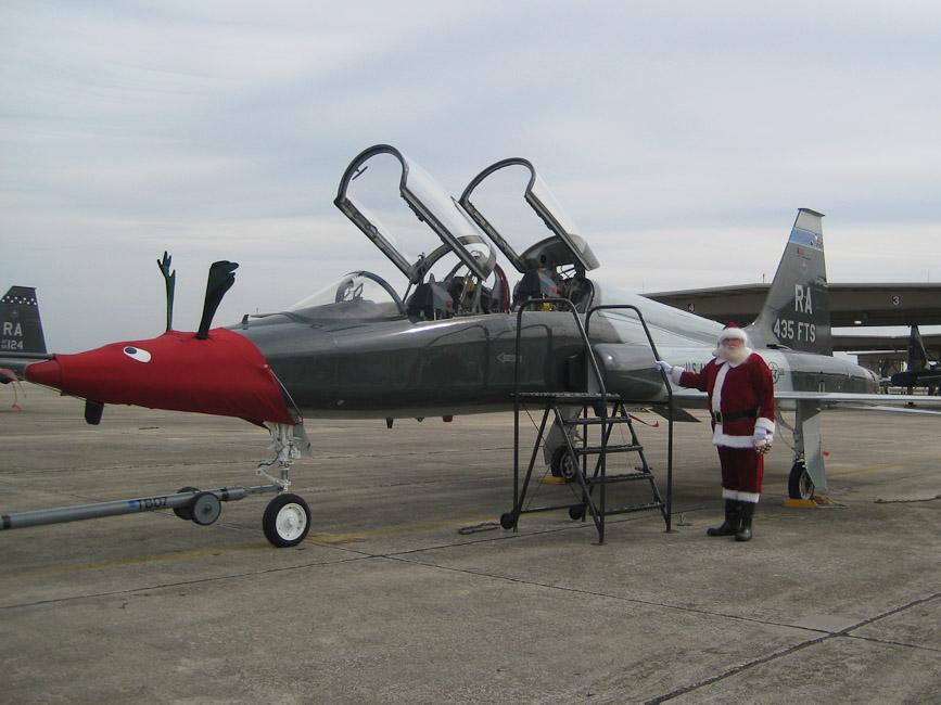 Santa's Jet