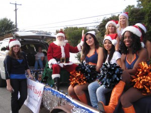 Santa and the Lady Heat Rays