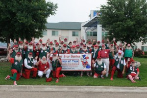 "In the Media: WFAA's ""Lone Star Santas Help Local Children Struck By Recent Disasters"""