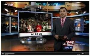 "In The Media: KSAT's ""City of Windcrest kicks off 55th annual Light-Up"""