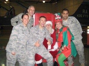 Santa's Friends in Uniform